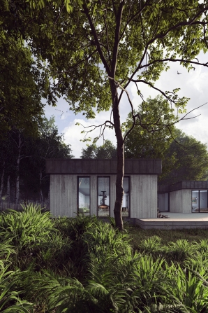 WOOD HOUSE RENDU 1